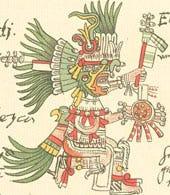 Photo of Aztec god