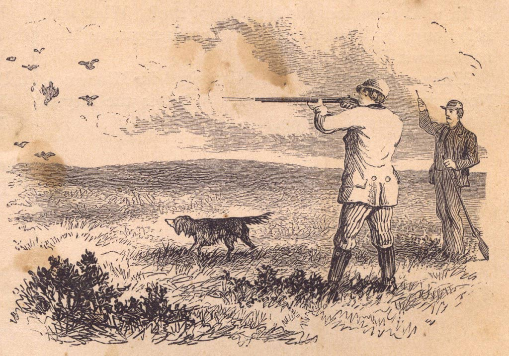 The Christmas Bird Hunt had its origins in the Christmas Side Hunt, which challenged hunters to harvest all the birds and animals they could collect in one day.