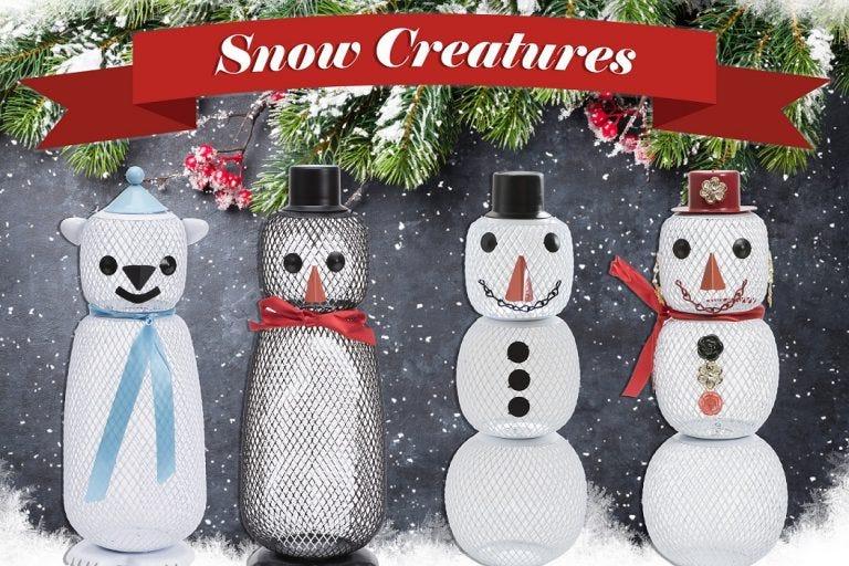 snow creatures feeders