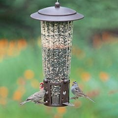 Perky-Pet® Squirrel-Be-Gone® Max Bird Feeder with Flexports®