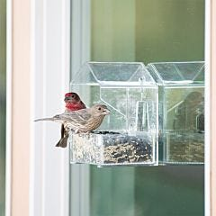 Perky-Pet Window Bird Feeder - ½ lb Seed Capacity