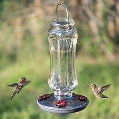 Perky-Pet® Starglow Vintage Glass Hummingbird Feeder