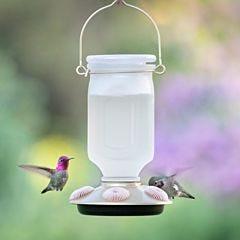 Perky-Pet® Sun-Kissed Top-Fill Glass Hummingbird Feeder