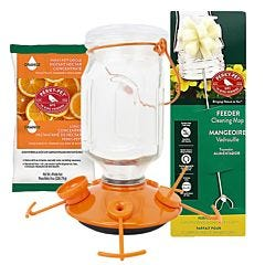 Perky-Pet® Top-Fill Glass Oriole Feeder Kit