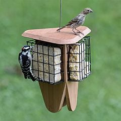 Perky-Pet® Triple Delight Bamboo Seed Feeder - 1-Pack