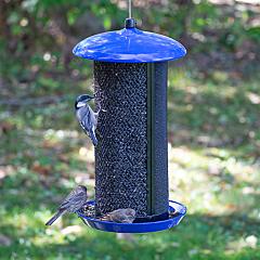 Perky-Pet® Large Dual Mesh Seed Feeder Cobalt Blue