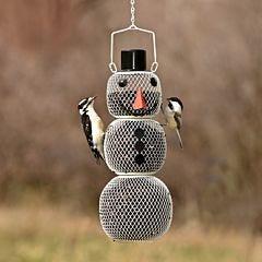 Perky-Pet® Snow Man Wild Bird Feeder